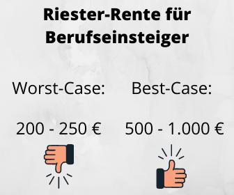 Riester-Rente Berufseinsteiger